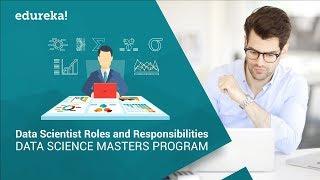 Data Scientist Roles and Responsibilities   Data Scientist Career   Data Science Training   Edureka