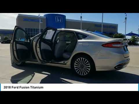 2018 Ford Fusion 2018 Ford Fusion P7805