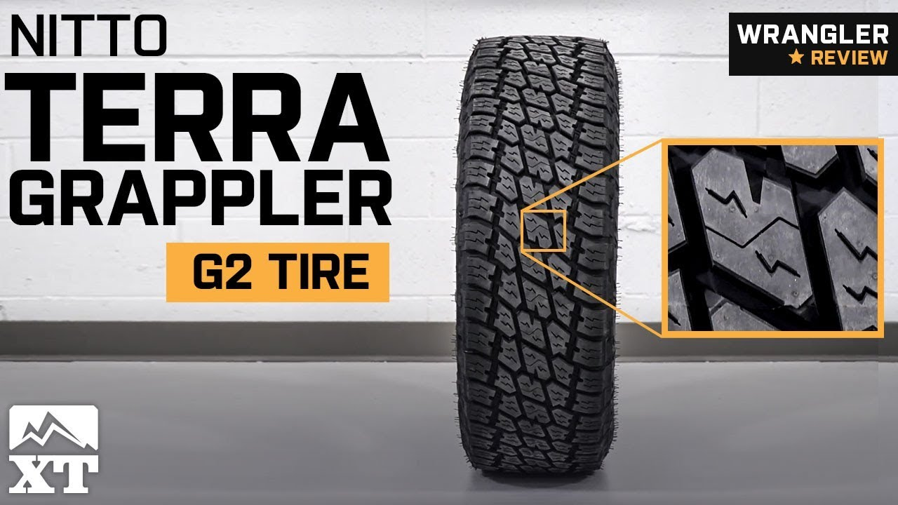 jeep wrangler nitto terra grappler g2 tire 29 35 1987 2018 yj tj jk jl review [ 1280 x 720 Pixel ]