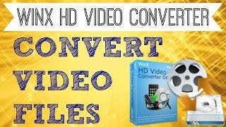 How to Convert MP4 to MP3, AVI, FLV, MOV, WMV - WinX HD Video Converter