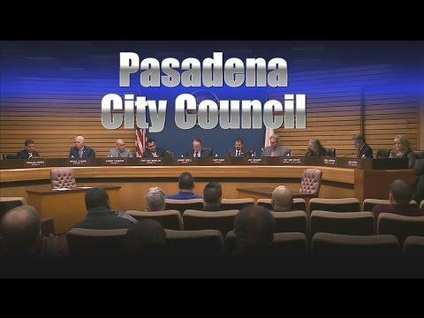 Pasadena Council Meeting 6/07/2016