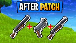 Fortnite Battle Royale : Double Pump After Patch (Tutorial) (PS4/XboxOnePs3/Xbox360/)
