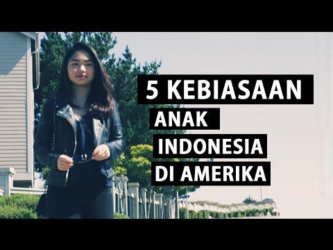 5 KEBIASAAN ANAK INDONESIA DI AMERIKA