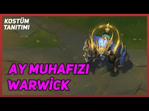Lunar Guardian Warwick (Skin Preview) League of Legends