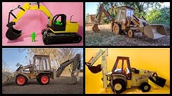 DIY 7 Different type of JCBs  (How To Make Hydraulic JCB From Cardboard At Home)