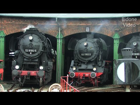 Eisenbahn-Fest Staßfurt 1/2 - Steam Train - Züge