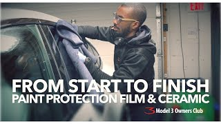 From start to finish: Paint protection film & ceramic