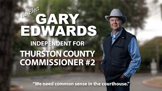 Gary Edwards on Thurston County Courthouse
