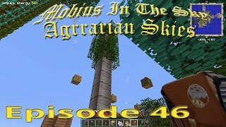 Mobius In The Sky: Ep 46 - Shallow Grave... Bananas - Agrarian Skies - Modded Minecraft - ASKY 46