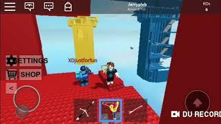Roblox doomspire brickbattle Noob vs Pro