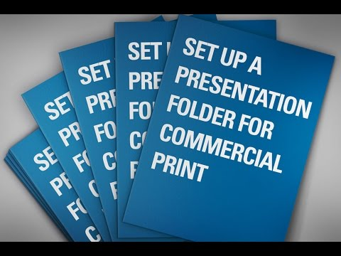 how to make an indesign folder