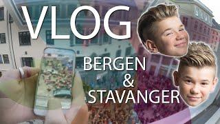 Marcus & Martinus - VLOG - Bergen & Stavanger