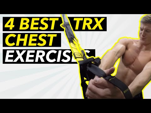 4 Best TRX Chest Exercises | Advanced | Bodyweight Workout