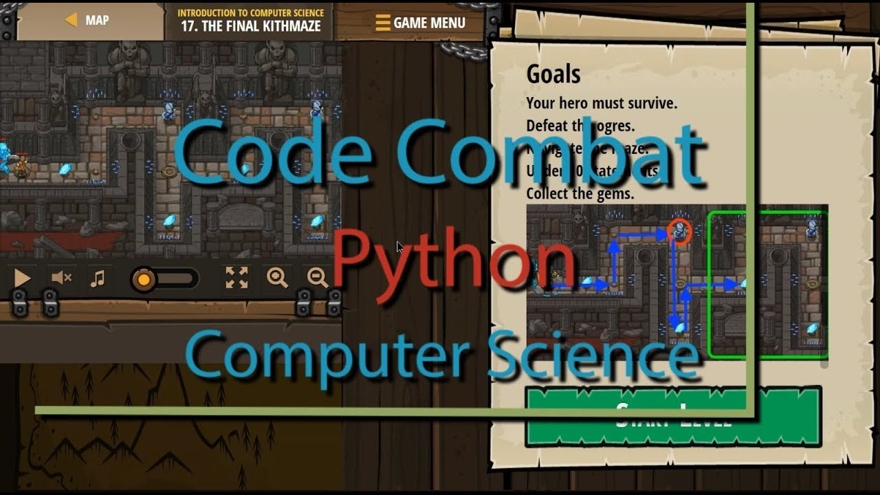 CodeCombat The Final Kithmaze - Level 17 Python Tutorial with Solution