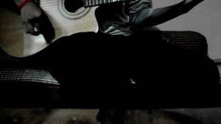 ye chaand sa roshan chehra guitar cover