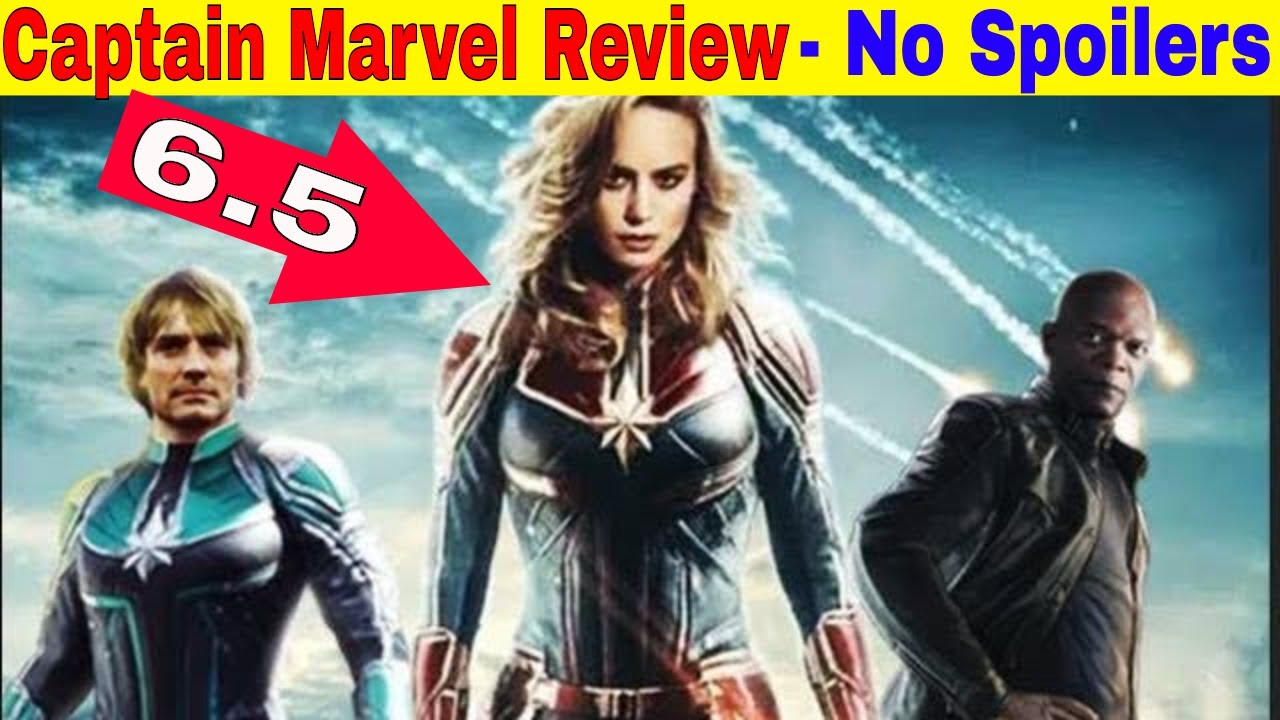 captain marvel review - no spoilers (it was -----)