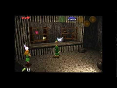 Let's Play Legend of Zelda Ocarino of Times [German] [Blind]Part 1- Ich und ein Stock
