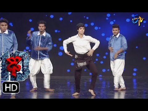 Aqsa Khan Performance | Dhee 10 | 23rd  August 2017| ETV Telugu