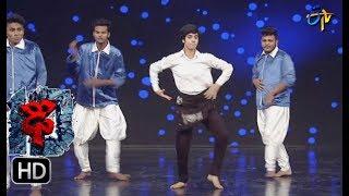 Aqsa Khan Performance | Dhee 10 | 23rd  August 2017| ETV Telugu
