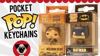 Funko Pocket Pop Keychains! Batman, Walking Dead, Game Of Thrones