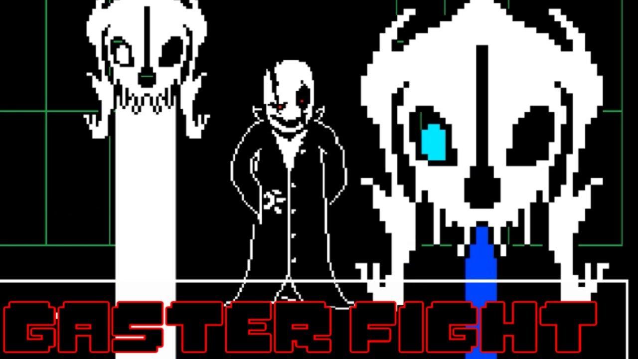 ブラスターを連打してくる狂気のw D Gasterと戦闘 Gaster Fight Youtube