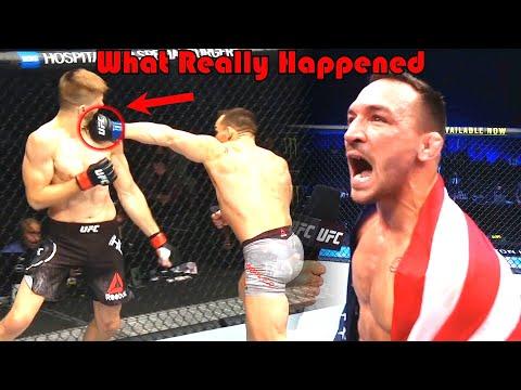 ONE PUNCH!!! What Really Happened (Dan Hooker vs Michael Chandler)
