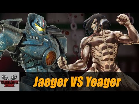 Jaeger VS Yeager | DEATH BATTLE Cast