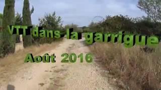 VTT Villes sur Auzon Vaucluse Août 2016