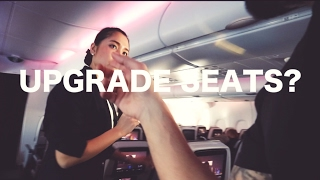 Qatar Airways || Asking For Free FIRST CLASS Upgrade