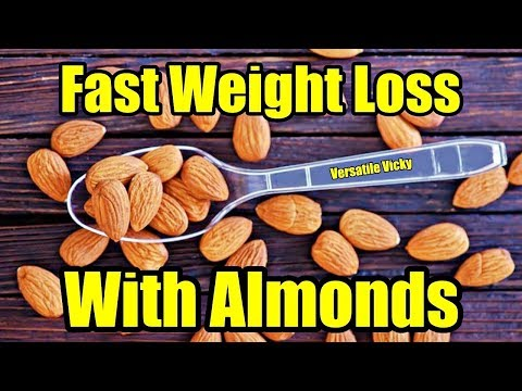 Almonds For Weight Loss | Winter Weight Loss Ideas | Raw Soaked Almonds | Almond Milk Butter