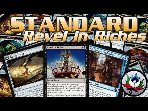 MTG – Funny U/B Revel in Riches BOOTY COMBO Standard Deck Tech for Magic: The Gathering – Ixalan!
