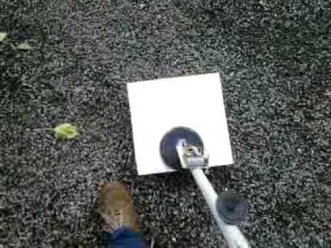 Homemade simple metal detector