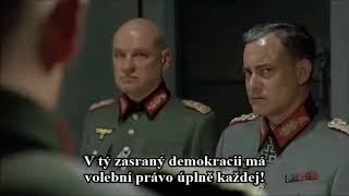 Hitler - hlasování o důvěře komunistické vládě Andreje Babiše (parodie)