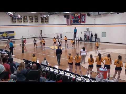 MaliyahTela Northwest College Volleyball Highlights 2016