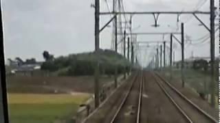 名鉄3400系急行碧南行110km/h運転