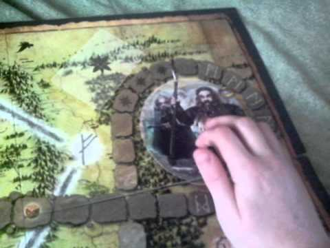 Обзор на карточную настольную игру Хоббит Нежданное Путешествие
