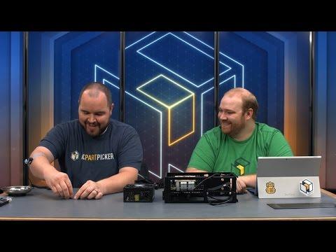 DAN Cases A4-SFX Mini ITX Build (Livestream)