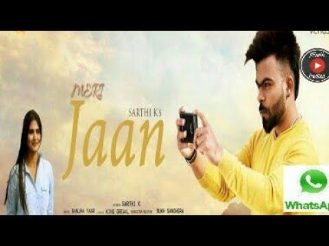 Meri Jaan | Sarthi K | Whatsapp status