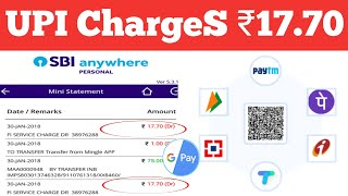 UPI Transection Charges ? 🤔 PhonePe Google Pay Paytm !