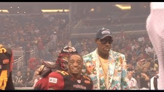 Dennis Rodman Appearance @ Orlando Predators Arena Football League Game