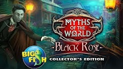 Myths Of the World: Black Rose Collector's Edition Gameplay Walkthrough Bigfish Games NO COMMENTARY