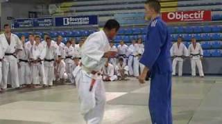 JUDO Seoi Nage deplacement lateral par H. Katanishi
