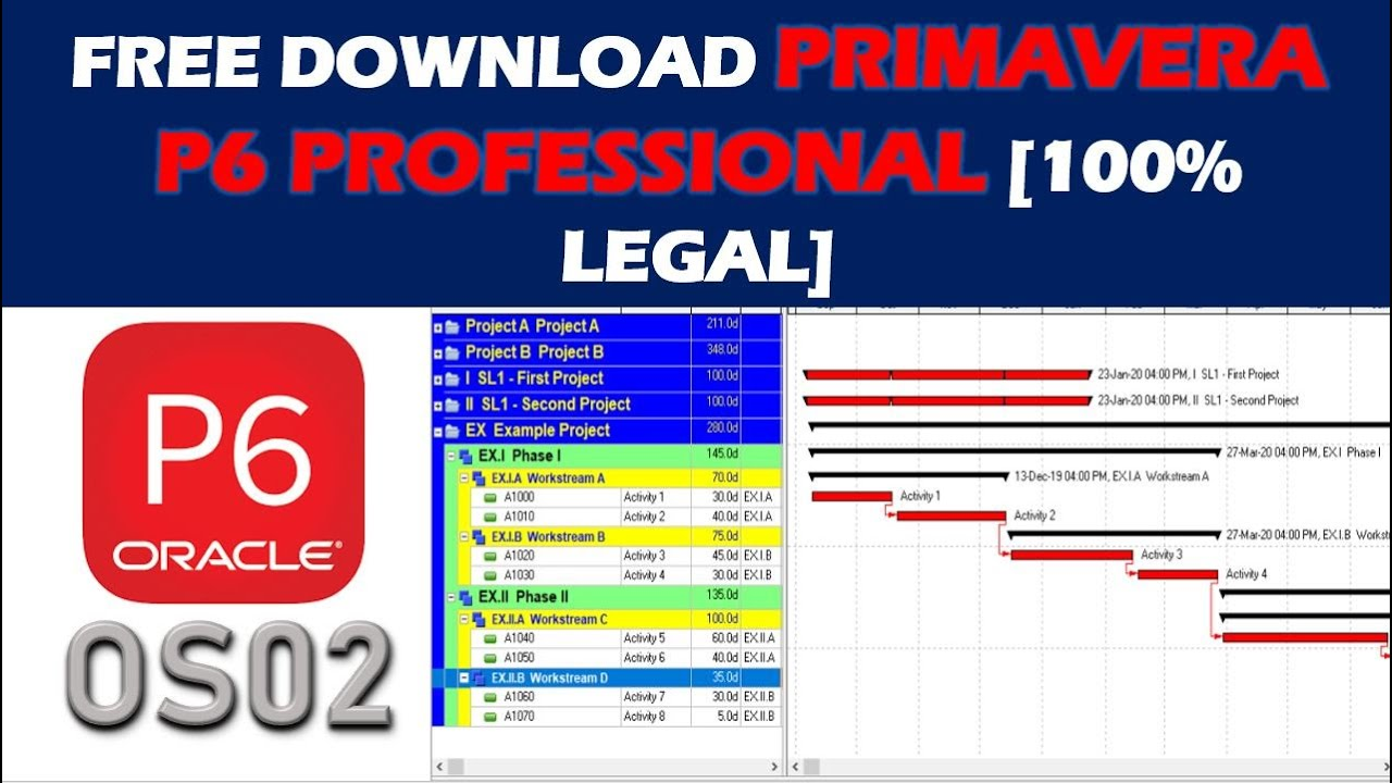 primavera software free download for windows 7 with crack