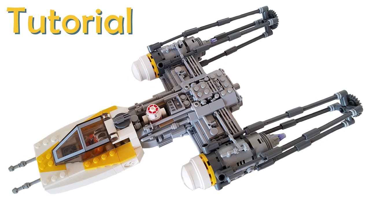 Lego Rogue One Y Wing Starfighter Moc With Building Instructions