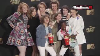 'Stranger Things' Cast 2017 MTV Movie And TV Awards