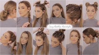 Easy Heatless Hairstyles ♡