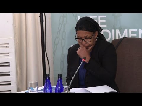 AFP news agency: Qedani Mahlangu at the Life Esidimeni arbitration hearings