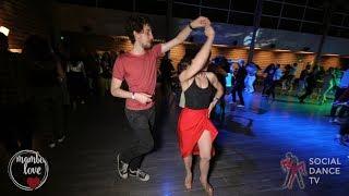 Robert & Olesya - Salsa social dancing | Mambo.love 2018