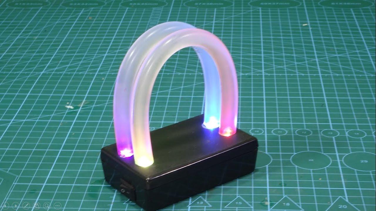 Amazing Light Using RGB LED