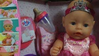 Interactive Princess Doll / интерактивный Принцесса кукла - Baby Born / Бэби Борн - Zapf Creation(, 2015-02-11T07:00:01.000Z)